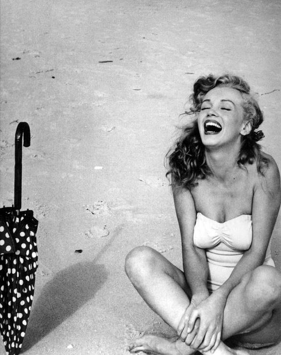 Beach Marilyn Monroe